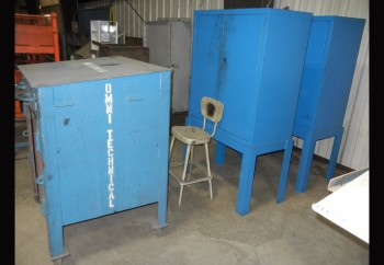Lot-(3) Steel Cabinets in (1) Row