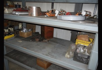 Section of Heavy Duty Steel Shelving