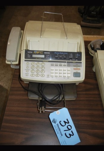 BROTHER MODEL 1950MC, Fax Machine with UMAX Scanner