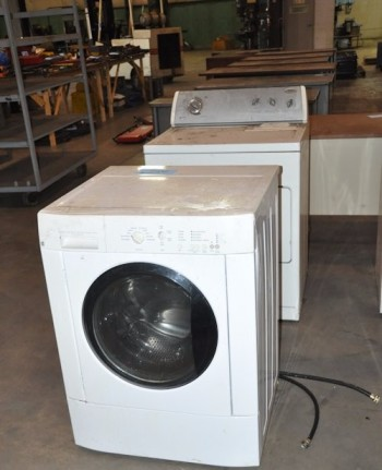 Lot-Washer, Dryer and Stove