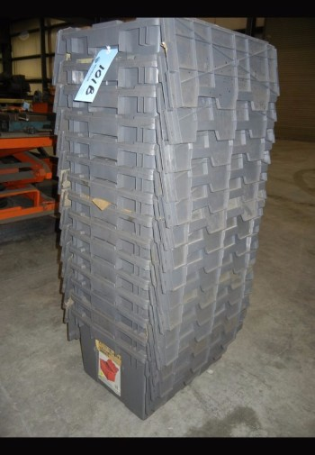 Lot-(15) Plastic bins