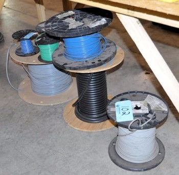 Lot-Wire Spools Under (1) Table
