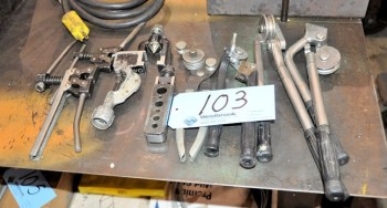 Lot-Tubing Benders and Pipe Flaring Tools