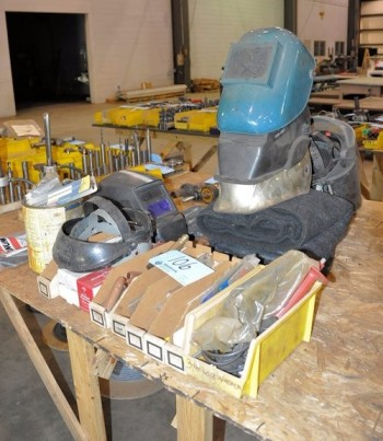 Lot-Welding Tips and Helmets