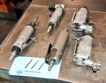 Lot-(5) Pneumatic Die Grinders
