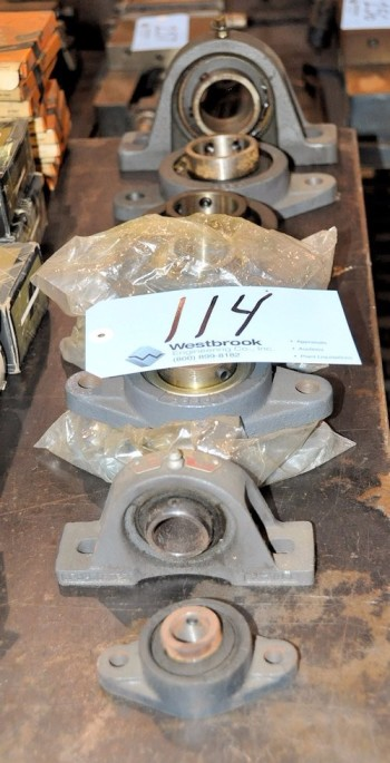 Lot-Pillow Block Bearings in (1) Row