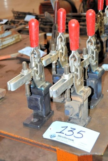 Lot-(4) DE-STA-CO Fixture Clamps