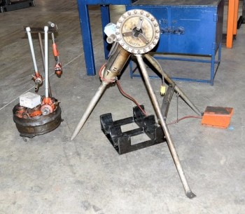 RIDGID MODEL 270, Pipe Threader with Dies and Pipe Cutter