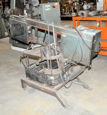 ELLIS MODEL 1440, Horizontal Metal Cutting Bandsaw, S/N 14483426