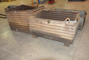 Lot-(3) Steel Tubs