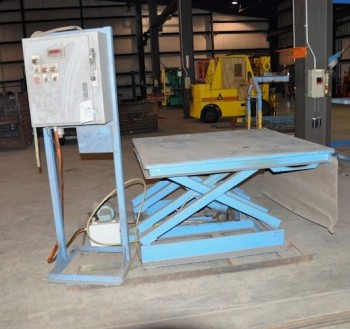 5\' x 5\' Scissor Lift Table