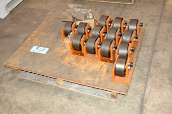 Lot-Turn Table Wheels on (1) Pallet