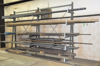 16\'W x 10\'H Cantilever Rack, (Stock Not Included)