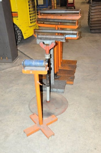 Lot-(7) Stock Roll Feeders in (1) Row