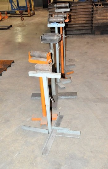 Lot-(6) Stock Roll Feeders in (1) Row