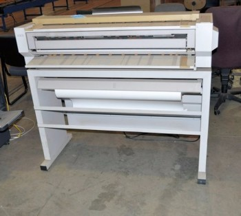 XEROX MODEL 2510, Plotter with Stand