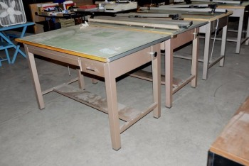 Lot-(3) Drawing Tables