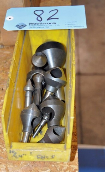 Lot-Countersinks in (1) Bin
