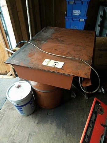 Parts washer & Barrel