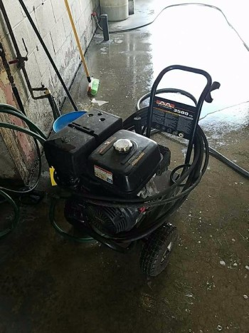 Honda GX 390 power washer