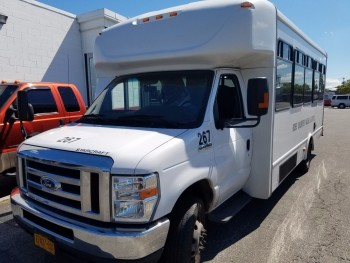 Bus number 267 2014 Ford E450 super duty