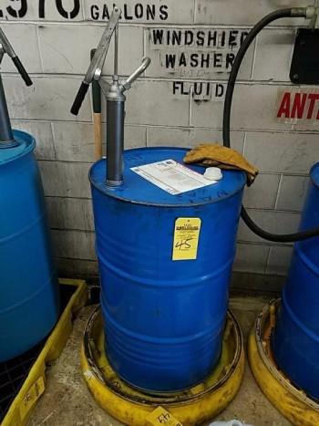 Barrel drum and pump does not include Barrel dump