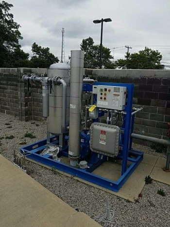 Compressed natural gas dryer