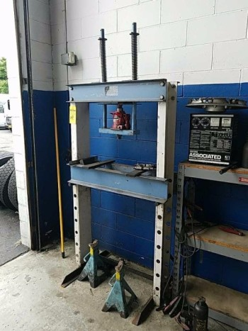 20 ton hydraulic shop press buy OTC a division of