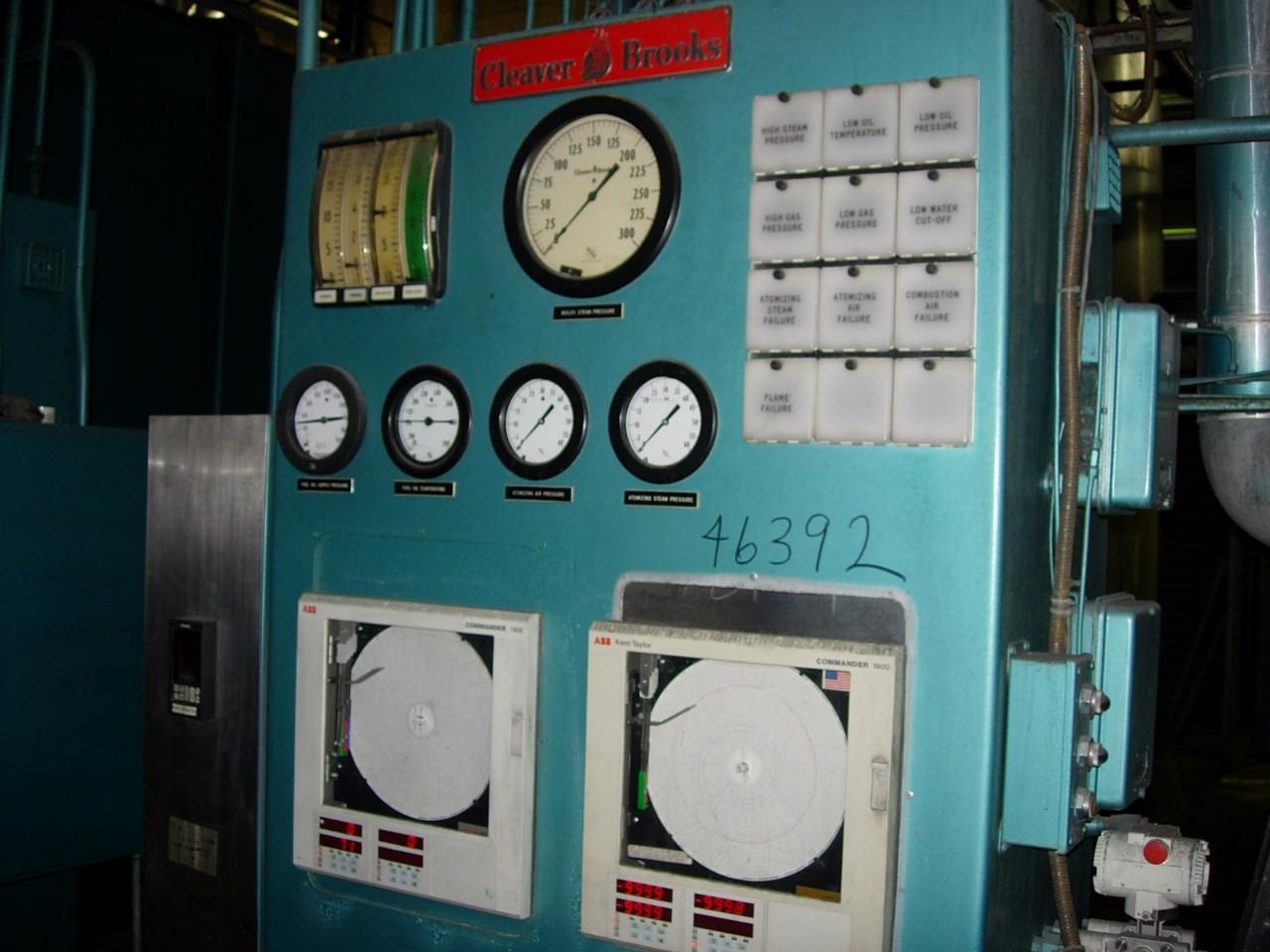 Cleaver Brooks D-52 Water Tube Boiler