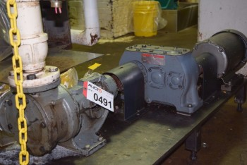 MCCARTER JACKETED HOLDING TANK 54 WITH AGITATOR