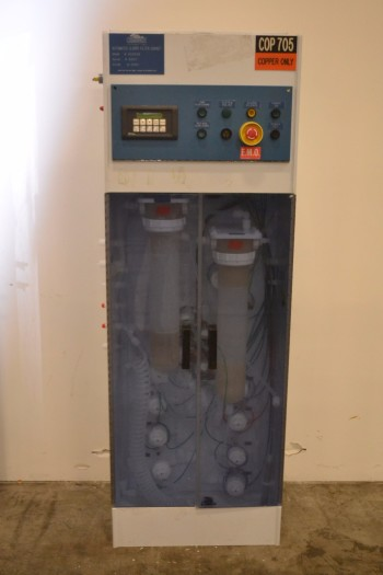 CHEMWEST SYSTEMS AUTOMATED SLURRY FILTER CABINET 420518