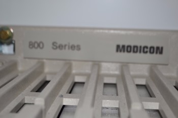 GOULD MODICON 800 PLC CABINET