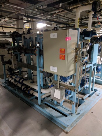 Pall Reclaim UltraFilteration Skid