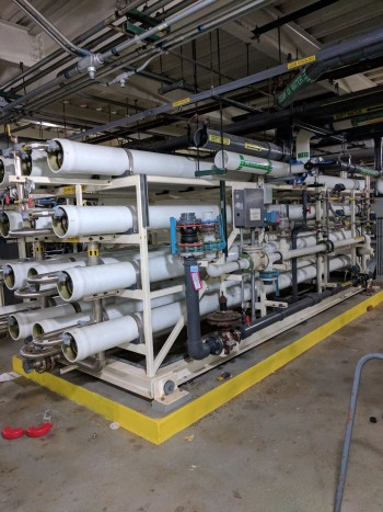 GE Infrastructure Reverse Osmosis Process Water Filteration System
