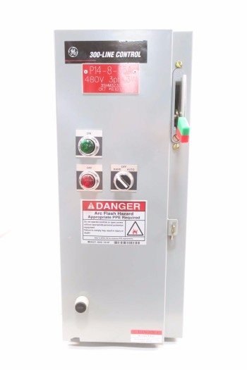 GE 10HP SIZE 1 COMBINATION MOTOR STARTER