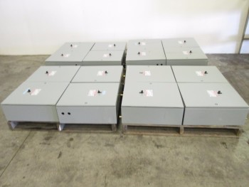 4 PALLETS OF ELECTRICAL ENCLOSURES