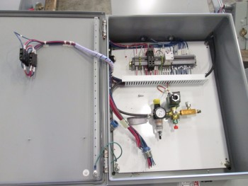 3 PALLETS OF ASSORTED ELECTRICAL ENCLOSURES AND SWITCHES