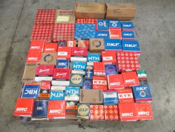 1 PALLET OF ASSORTED BEARINGS