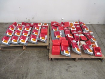 2 PALLETS OF ASSORTED FIRE SAFETY ALARMS