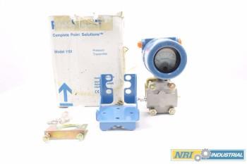 ROSEMOUNT 1151GP0S22B1M1 PRESSURE TRANSMITTER