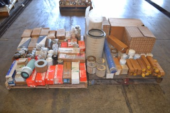 2 PALLETS OF ASSORTED FILTER ELEMENTS, PNEUMATIC AND HYDRAULIC