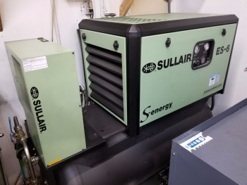 Sullair ES-6 Rotary Screw Air compressor w/ dryer
