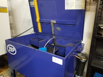 Zep Parts Washer