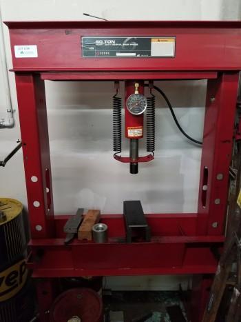 Sunex 50 Ton H-Press Model 5250