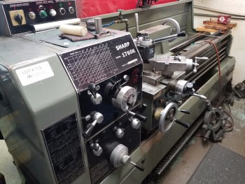 Sharp 1760K Gap Bed Manual Lathe