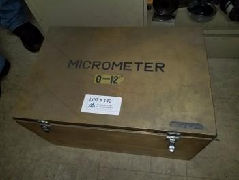 Micrometer Set 0-12\