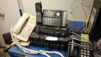Intercom system with misc phones