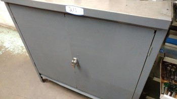Metal Cabinet (contents not included)