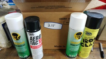 Misc Adhesive, and rust inhibitors
