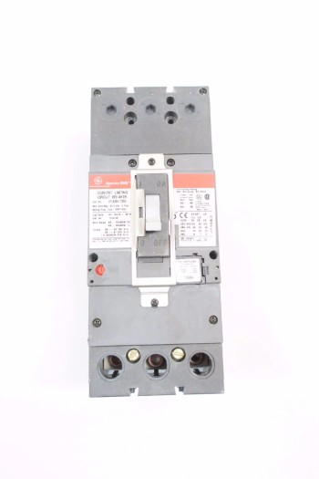 GE SFLA36AT0250 250A CIRCUIT BREAKER